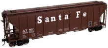Atlas O Santa Fe   PS4427 50' Covered Hopper, 3 rail or 2 rail