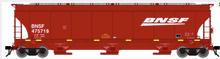 Atlas O BNSF (wedge logo) Trinity 5161 Covered Hopper  car, 3 rail