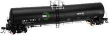 Atlas O Cargill Veg oils 25,500 gal tank car, 3 rail or 2 rail