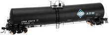 Atlas O ADM  25,500 gal tank car, 2 rail or 3 rail