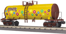 MTH Railking M&Ms Modern Tank Car, 3 rail