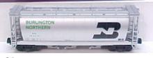 MTH Premier BN 3-Bay Cylindrical Hopper, 3 rail