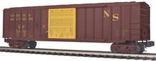 "MTH Premier ""Original"" Norfolk Southern 50' Single Door Box car, 3 rail LN"