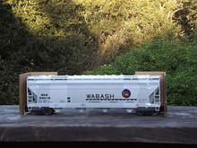 Weaver Wabash 50' centerflow covered hopper, 2 rail or 3 rail