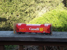 Weaver Canada National Wheat 50' covered hopper, 2 rail or 3 rail