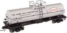 Atlas O Homgas 11,000 gallon  tank car, 3 rail or 2 rail