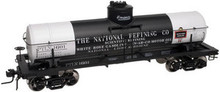 Atlas O National Refining 8000 gallon tank car, 3 or 2 rail