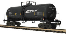 MTH Premier BNSF Tank Car (black), 3 rail