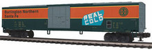 MTH Premier BNSF 60' Express Reefer, 3 rail