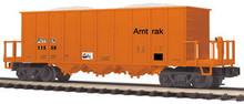 MTH Premier Amtak Rapid Discharge Car, 3 rail