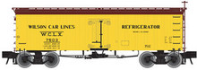 Atlas O Wilson Car Lines  36' wood reefer, 3 rail or 2 rail