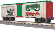 MTH Rail King, Winterbraun Holiday Ale Modern Reefer,  3 rail