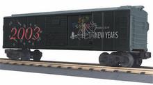 MTH Rail King 2003 New Year's  Box car, 3 rail