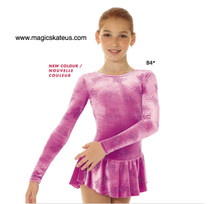 Mondor Skating Dress Style 2723, Butterfly -B 4