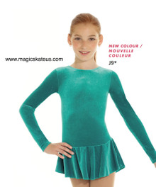 Mondor Skating Dress Style 2711, Jade Green