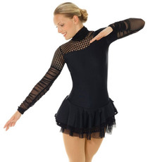Mondor 665 Black Figure Skating Dress.