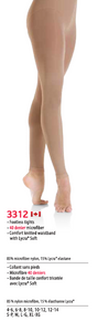 MONDOR STYLE: 3312 Footless Performance Tights