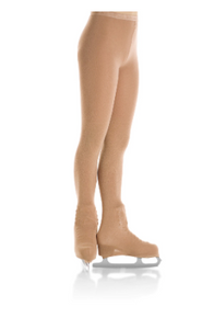 MONDOR STYLE: 3302 Boot cover Natural Bamboo tights
