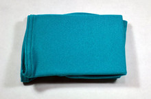 Teal boot covers