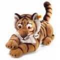EAN 064463 Steiff plush Radjah tiger, blond striped