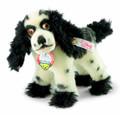 EAN 682759 Steiff mohair Butch the cover dog, white/black