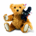 EAN 683220 Steiff mohair Fright night friends Teddy bear, russet