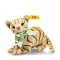 EAN 031809 Steiff plush Mitzi cat, light brown