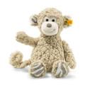 EAN 060298 Steiff plush soft cuddly friends Bingo monkey, beige