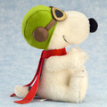 EAN 678257 Steiff mohair Snoopy Flying Ace, white