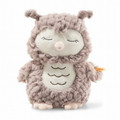 EAN 241833 Steiff plush soft cuddly friends Ollie owl, rose brown