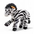 EAN 068881 Steiff plush Zippy zebra dangling, white/black