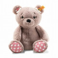 EAN 113673 Steiff plush soft cuddly friends Beatrice Teddy bear, rose brown