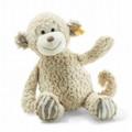 EAN 060366 Steiff plush soft cuddly friends Bingo monkey, beige