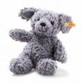 EAN 083570 Steiff plush soft cuddly friends Toni dog, blue gray