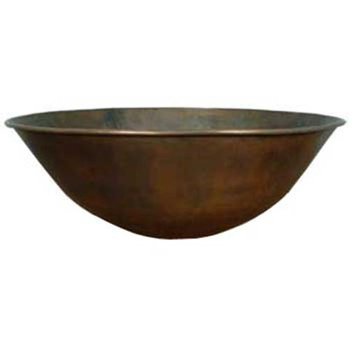 """36"""" Portofino Copper Fire Bowl"""