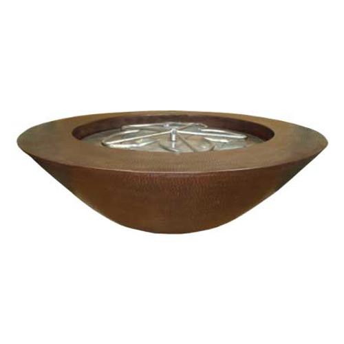 """45"""" El Cobre Copper Fire Bowl"""