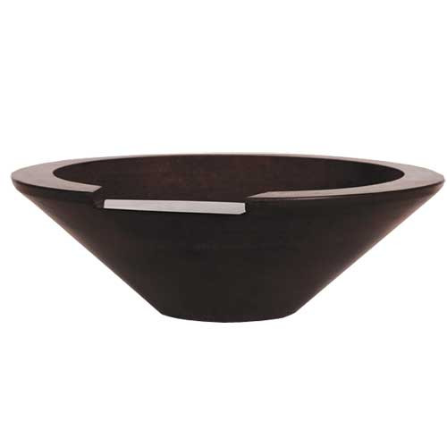 "36"" Ecuador Fire & Water Concrete Bowl"