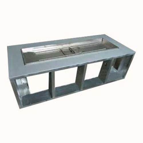 """48"""" x 26"""" Fire Pit Frame w/ Electronic Ignition Burner"""
