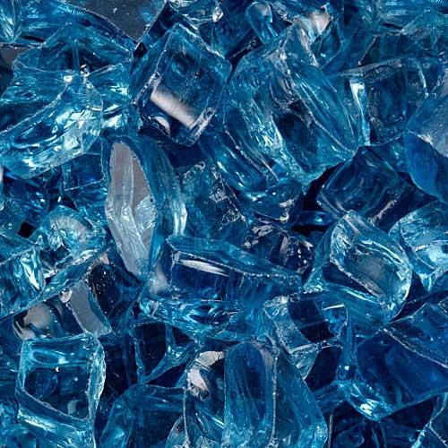 Arctic fire glass