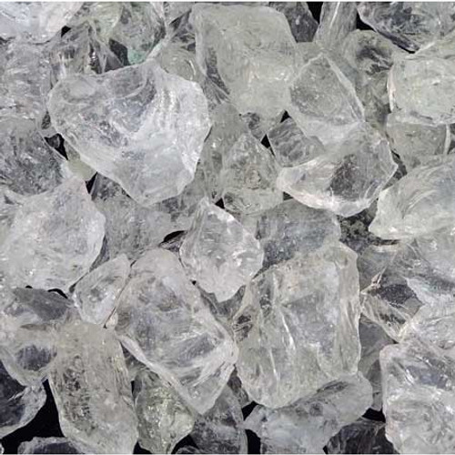 Ice fire glass