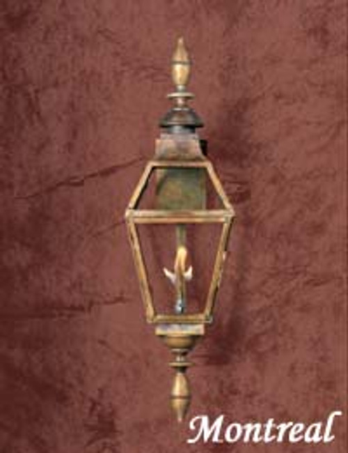 Copper gas light- The Montreal