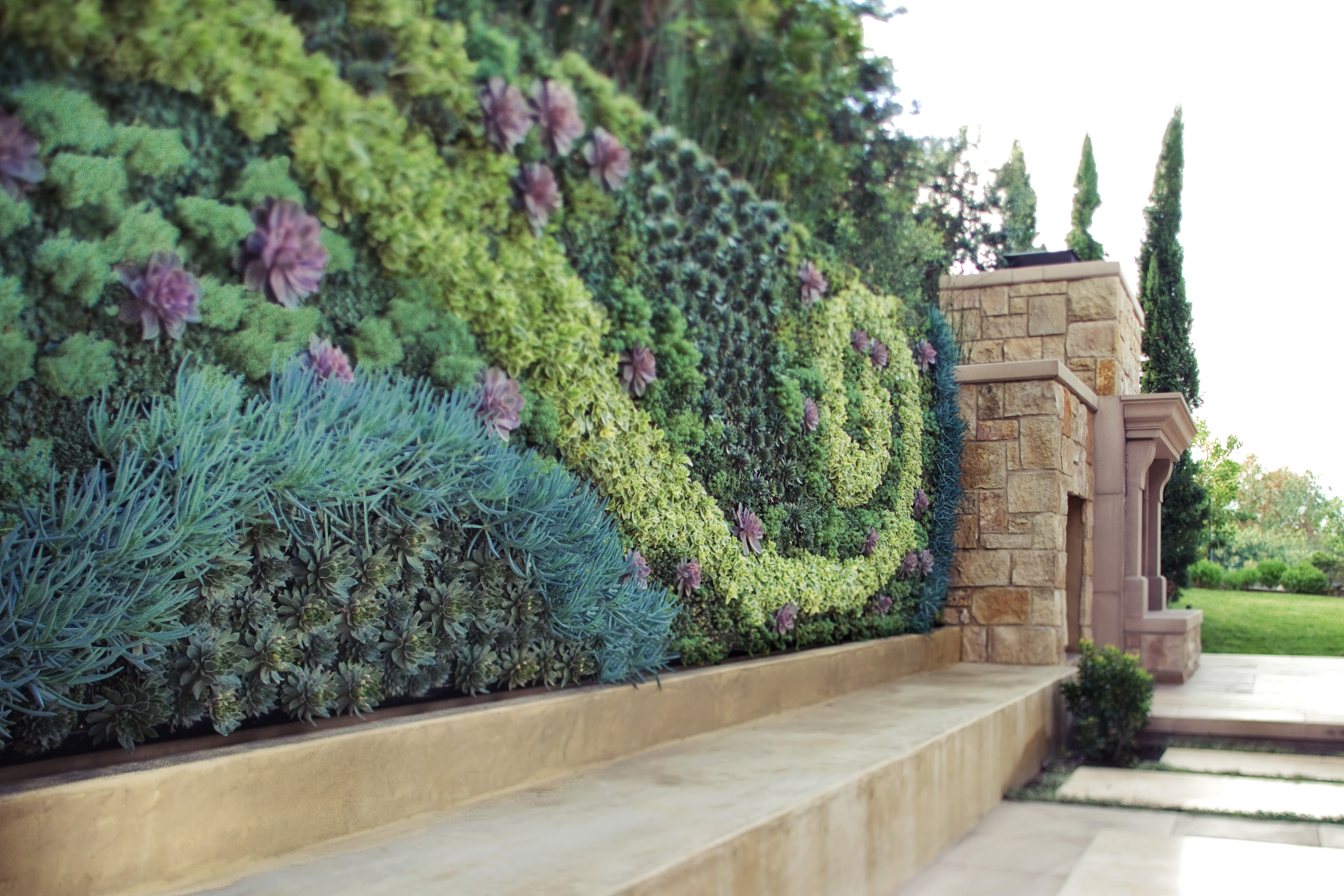 Grovert Living Wall Bring Life To Art Bright Green Groverts