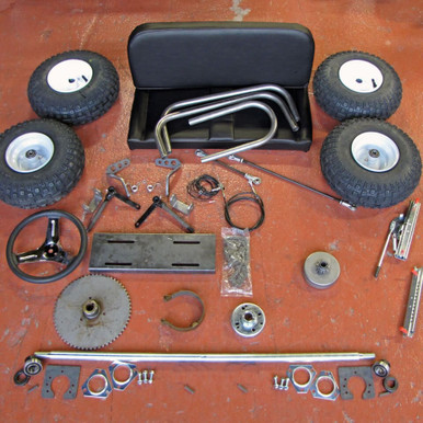 Brake Pads And Rotors Prices >> Live Axle Go Kart Kit