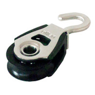 30mm Single Block with Swivel Hook