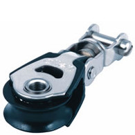 30mm Single Block with Swivel Fork