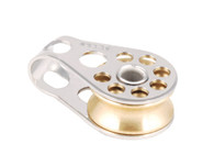 Single Brass Sheave Lightweight Plain Bearing Block