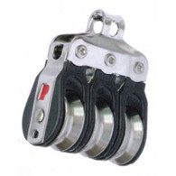19mm Heavy Duty Ball Bearing Micro Block Triple