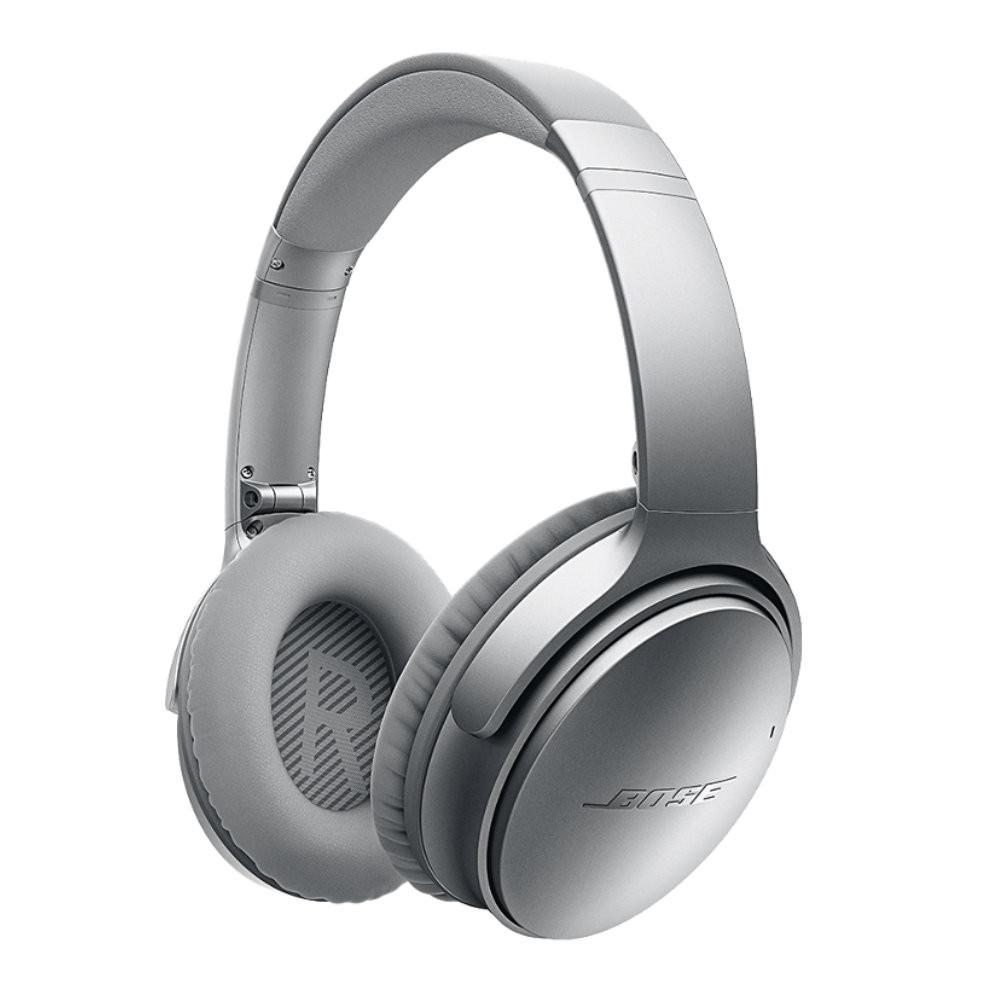 bose qc35 ii. bose qc35 quietcomfort 35 wireless noise cancelling headphones (silver) qc35 ii