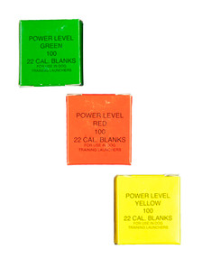 Dummy Launcher Blanks -Green,Yellow,Red