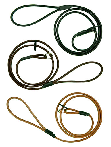 Slip Leads - 6mm Round Leather